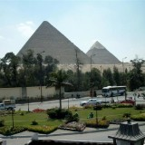 Egypt's Giza Pyramids And The Sphinx In Cairo