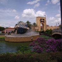 Touring Universal Studios