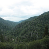 Newfound Gap Road And The Great Smoky Mountains