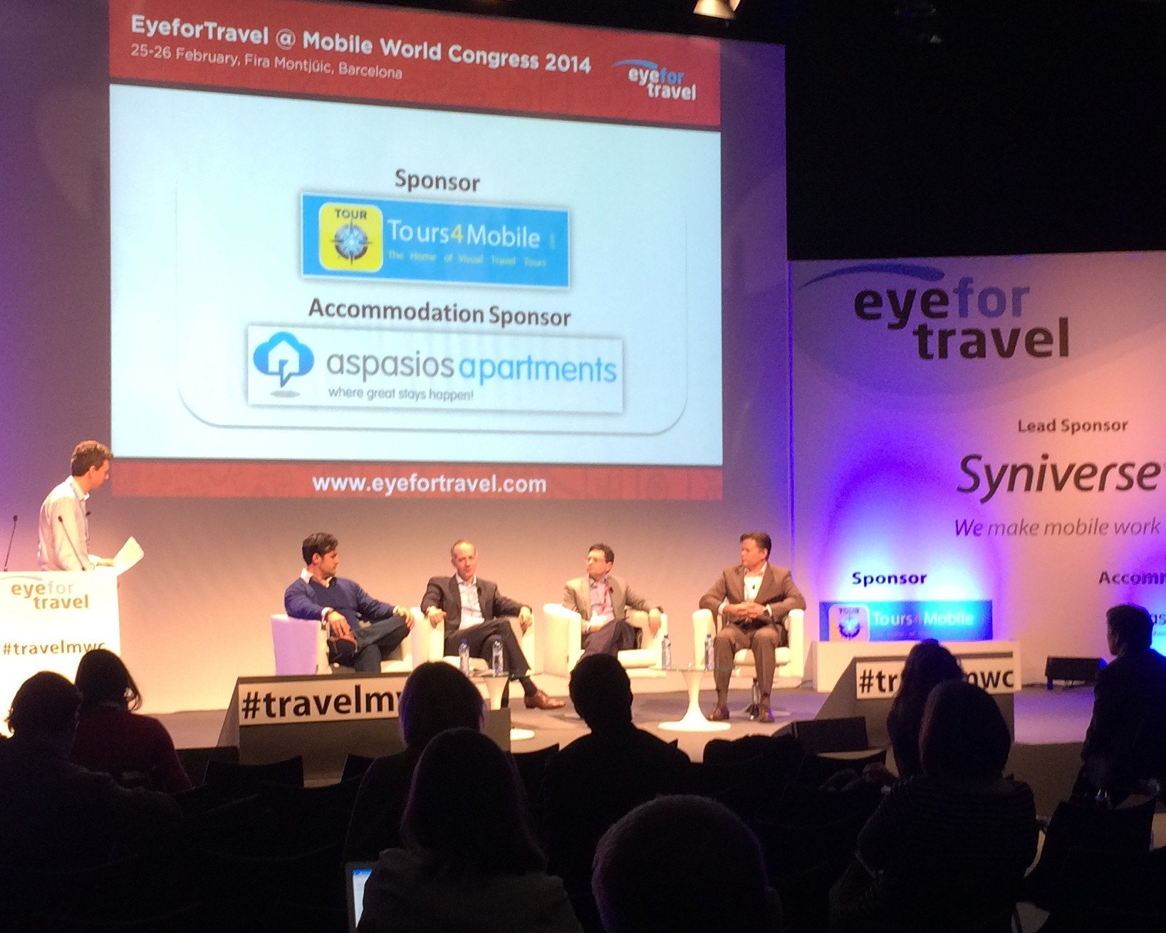 Travel Industry Leaders at the EyeForTravel Summit