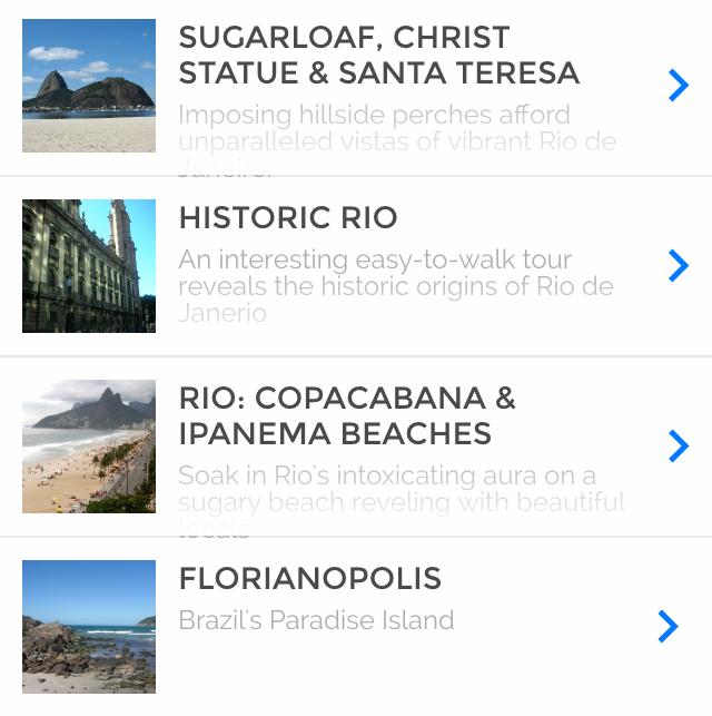 Tour Rio and Florianopolis