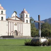 Mission Santa Barbara - Public Domain - Picryl