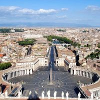 Piazza San Pietro Walking Tour