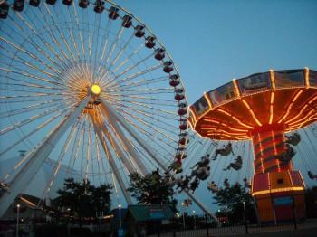 Chicago Navy Pier Family Entertainment Center Tour