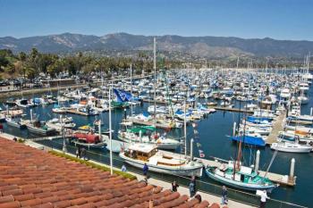 The Santa Barbara Harbor