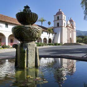 Mission Santa Barbara Fountain